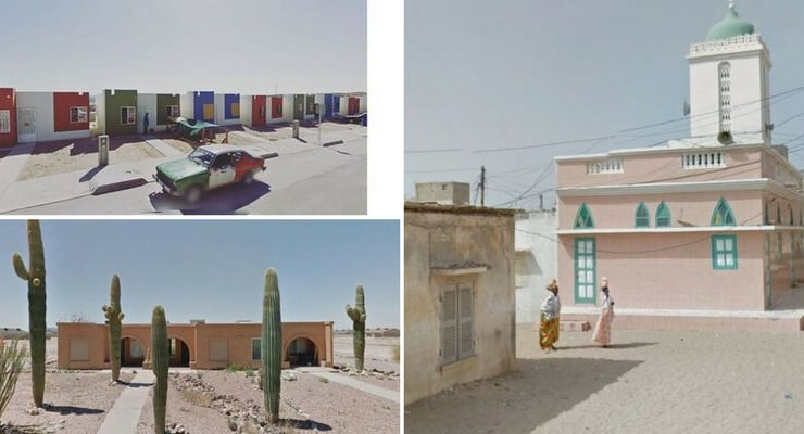 Jacqui Kenny e le foto scattate usando Google Street View