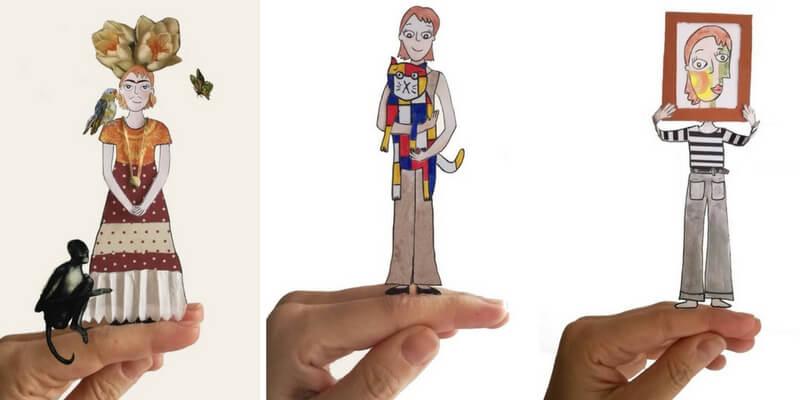 """""""Giacartina"""", il personaggio che insegna l'arte ai bambini"""