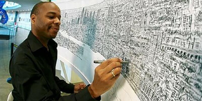 Stephen Wiltshire, l'artista autistico che disegna le città a memoria