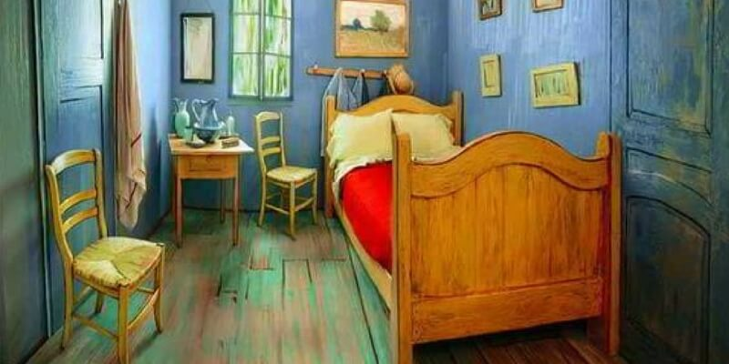 La camera da letto di Van Gogh si può affittare su Airbnb