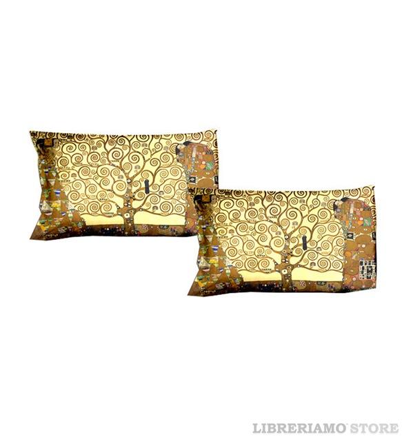 coppia-federe-quadrato-arredo-arte-klimt-albero-della-vita-manifatturecotoniere-libreriamostore (2)