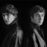 Astrid Kirchherr with the Beatles |