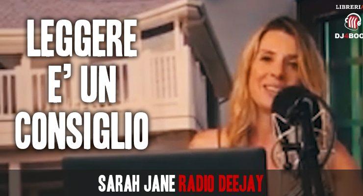 """Sarah Jane, """"La lettura e la radio trasmettono le stesse grandi emozioni"""""""