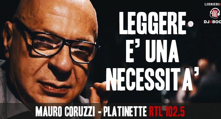 """Mauro Coruzzi (Platinette), """"Leggere migliora l'umore e la conoscenza"""""""