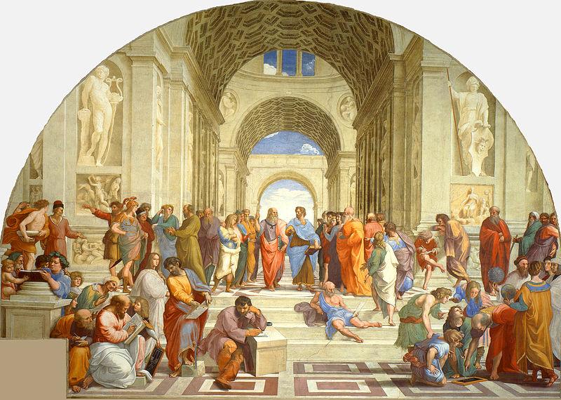 800px La scuola di Atene