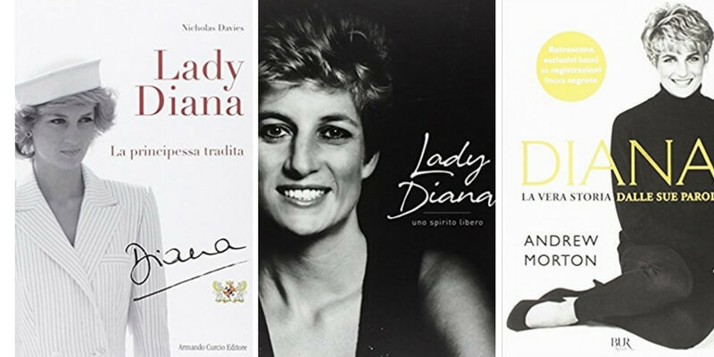 I 5 libri più belli sulla vita di Lady Diana