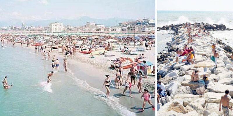 Le vacanze estive degli italiani negli scatti di Massimo Vitali