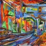 I lavori di Dillon James, artista affetto dalla sinestesia