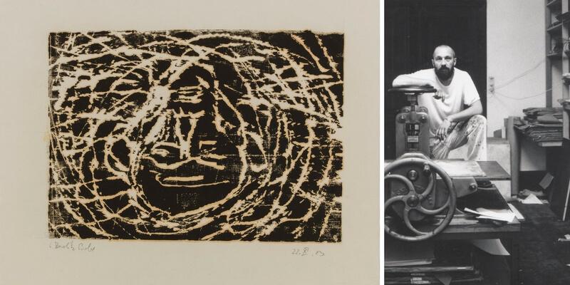 A Carpi in mostra le xilografie dell'artista Georg Baselitz