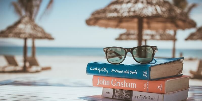 Estate 2017, i libri più letti dagli italiani in vacanza