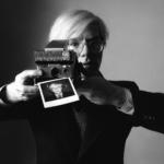 "OLIVIERO TOSCANI. Immaginare | Oliviero Toscani, Andy Warhol per Polaroid 1975, ""L'Uomo Vogue"", Italia, 1975 © Studio Toscani"