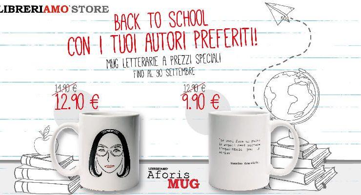Back to School, inizia con il piede giusto con l'offerta AforisMug!