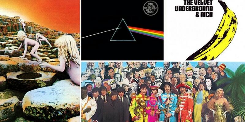 Le 9 copertine di album rock che possono considerarsi opere d'arte