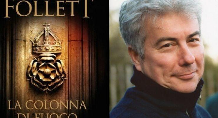 """Ken Follett torna in libreria con """"La Colonna di fuoco"""""""