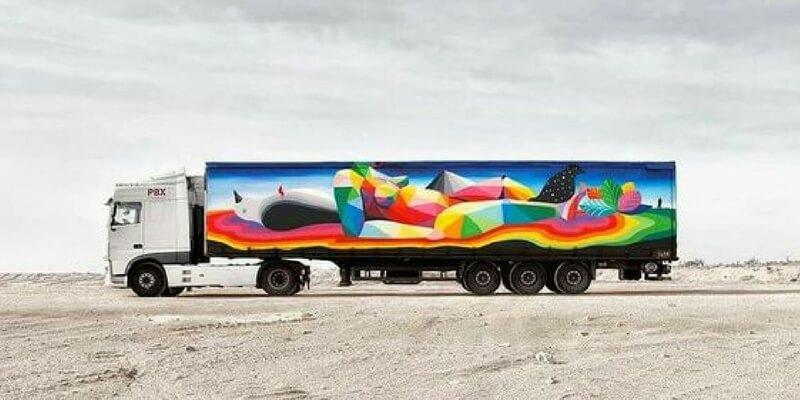 Truck Art Project, l'arte che sfreccia per le strade