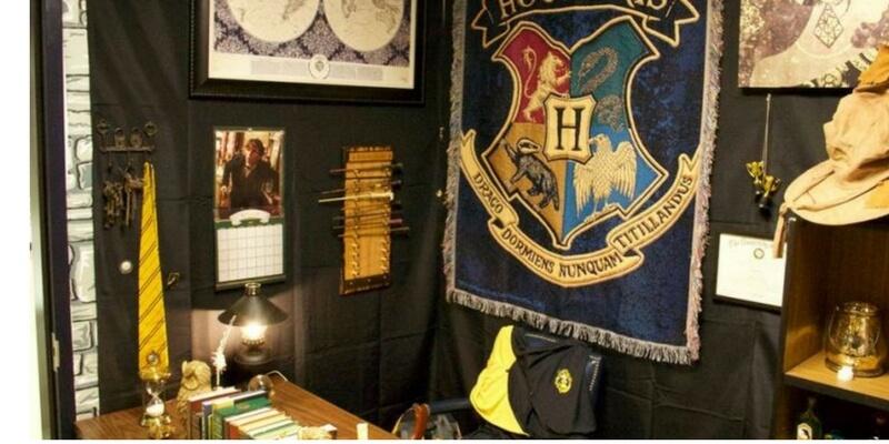 La classe trasformata nel castello di Hogwarts