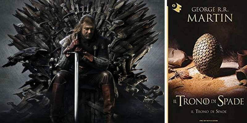Libro o serie Tv? Il caso Game of Thrones