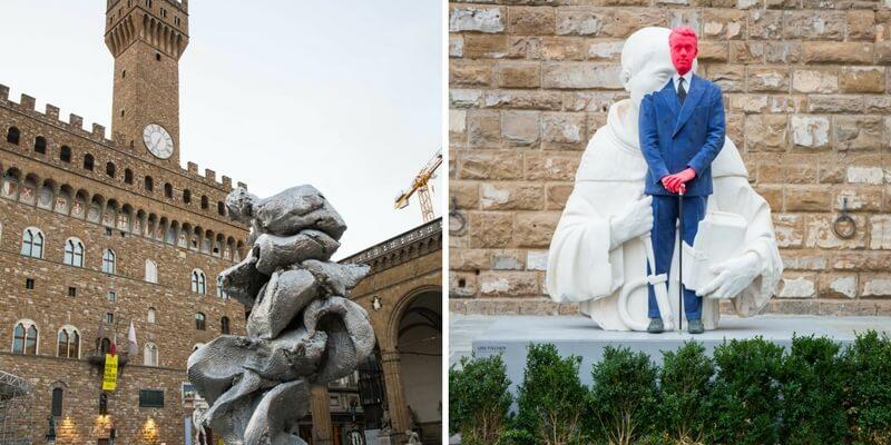 """Urs Fischer è il protagonsta assoluto dell'evento """"In Florence"""" 2017"""