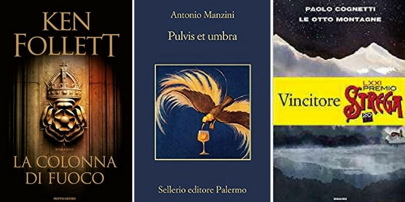 "Classifica libri più venduti. Al primo posto ""La colonna di fuoco"" di Ken Follett"