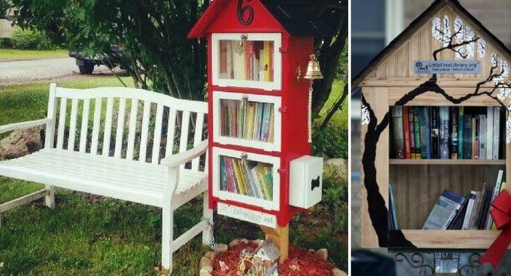 """5 consigli per rendere accattivanti le vostre """"Little Free Library"""""""
