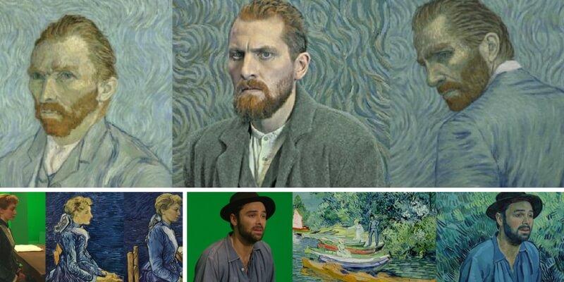 """La trasformazione degli attori in vivaci dipinti per il film """"Loving Vicent"""""""