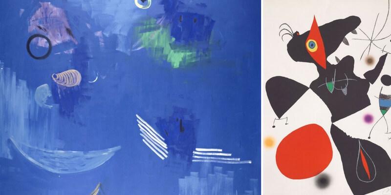 I colori del Mediterraneo in una mostra a Pistoia dedicata a Mirò e Marino