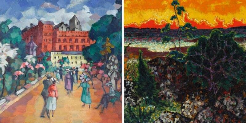 I colori brillanti di Konrad Mägi per la prima volta in mostra a Roma