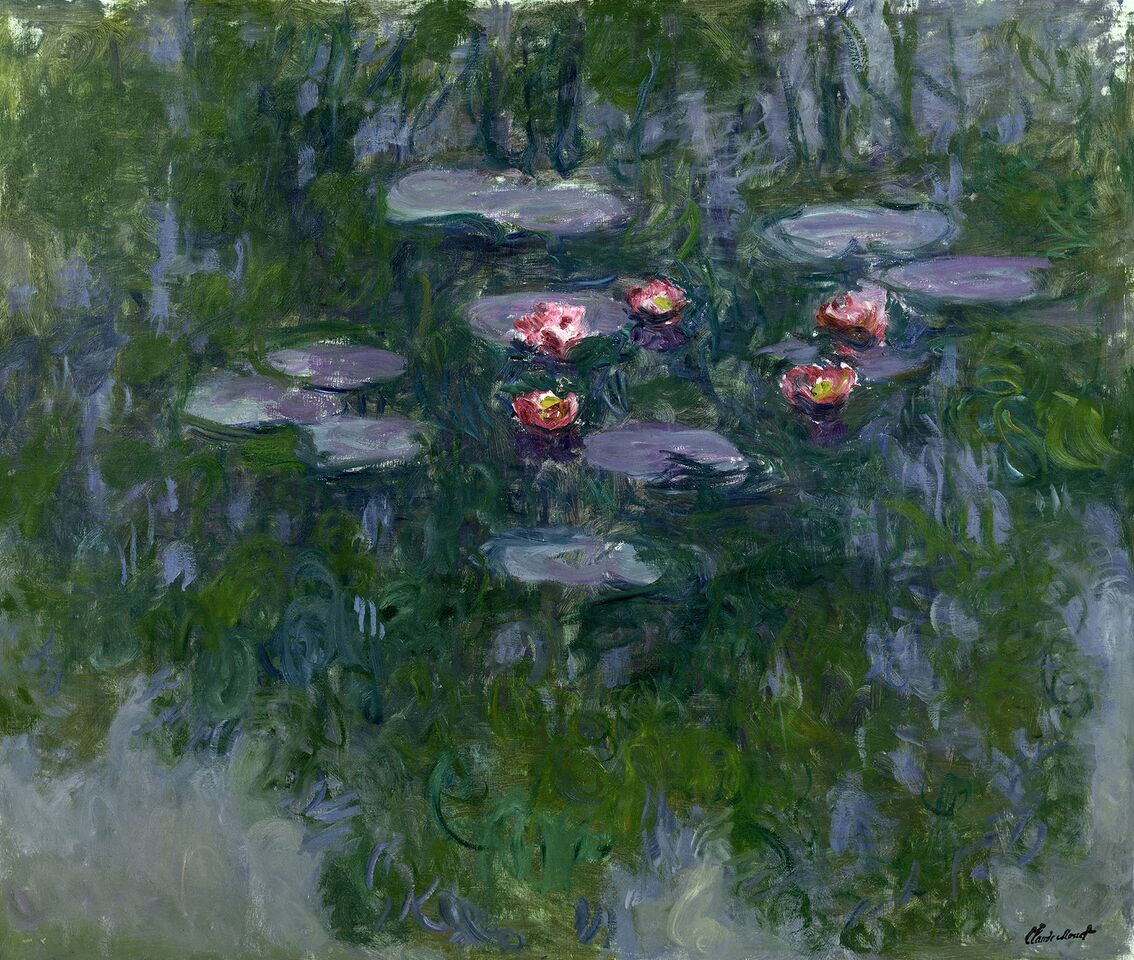 Claude Monet (1840-1926) Ninfee , 1916-1919 Olio su tela, 130x152 cm Parigi, Musée Marmottan Monet © Musée Marmottan Monet, paris c Bridgeman-Giraudon / presse