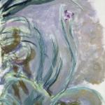 Claude Monet | Claude Monet (1840-1926)   Iris  , 1924-1925   Olio su tela, 105x73 cm   Parigi, Musée Marmottan Monet   © Musée Marmottan Monet, paris c Bridgeman-  Giraudon / presse