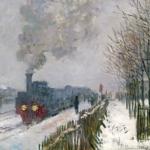 Claude Monet | Claude Monet (1840-1926)   Il treno nella neve. La locomotiva  , 1875   Olio su tela, 59x78 cm   Parigi, Musée Marmottan Monet   © Musée Marmottan Monet, paris c   Bridgeman-Giraudon / presse