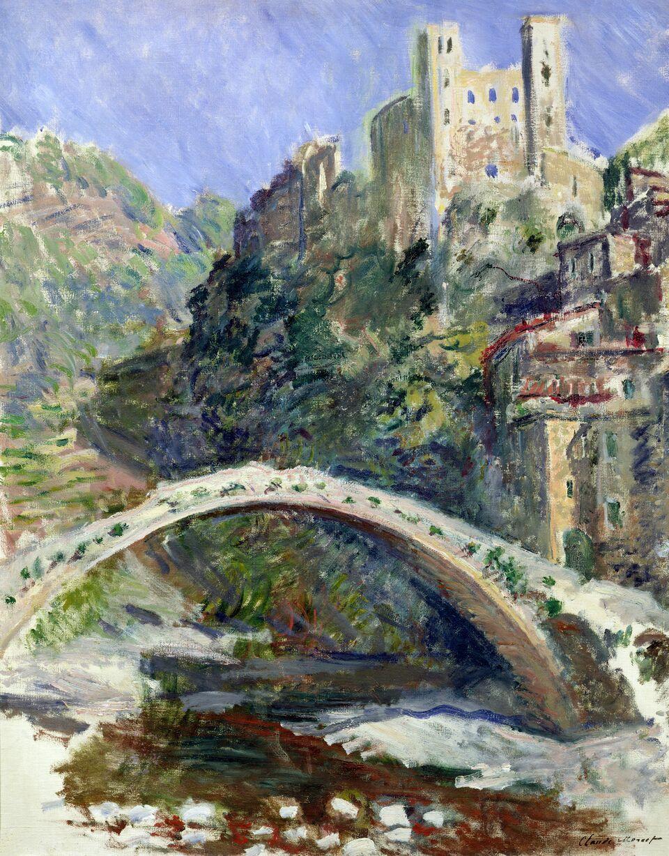 Claude Monet (1840-1926) Il castello di Dolceacqua , 1884 Olio su tela, 92x73 cm Parigi, Musée Marmottan Monet © Musée Marmottan Monet, paris c Bridgeman- Giraudon / presse