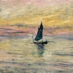 Claude Monet | 7   Claude Monet (1840-1926)   Barca a vela. Effetto sera  , 1885  Olio su tela, 54x65 cm   Parigi, Musée Marmottan Monet   © Musée Marmottan Monet, paris c   Bridgeman-Giraudon / presse