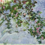 Claude Monet | Claude Monet (1840-1926)   Le rose  , 1925-1926   Olio su tela, 130x200 cm   Parigi, Musée Marmottan Monet   © Musée Marmottan Monet, paris c Bridgeman-  Giraudon / presse