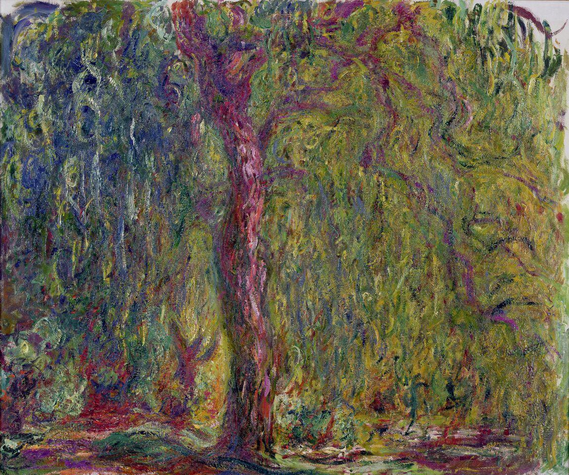 Claude Monet (1840-1926) Salice piangente , 1918-1919 Olio su tela, 100x120 cm Parigi, Musée Marmottan Monet © Musée Marmottan Monet, paris c Bridgeman-Giraudon / presse