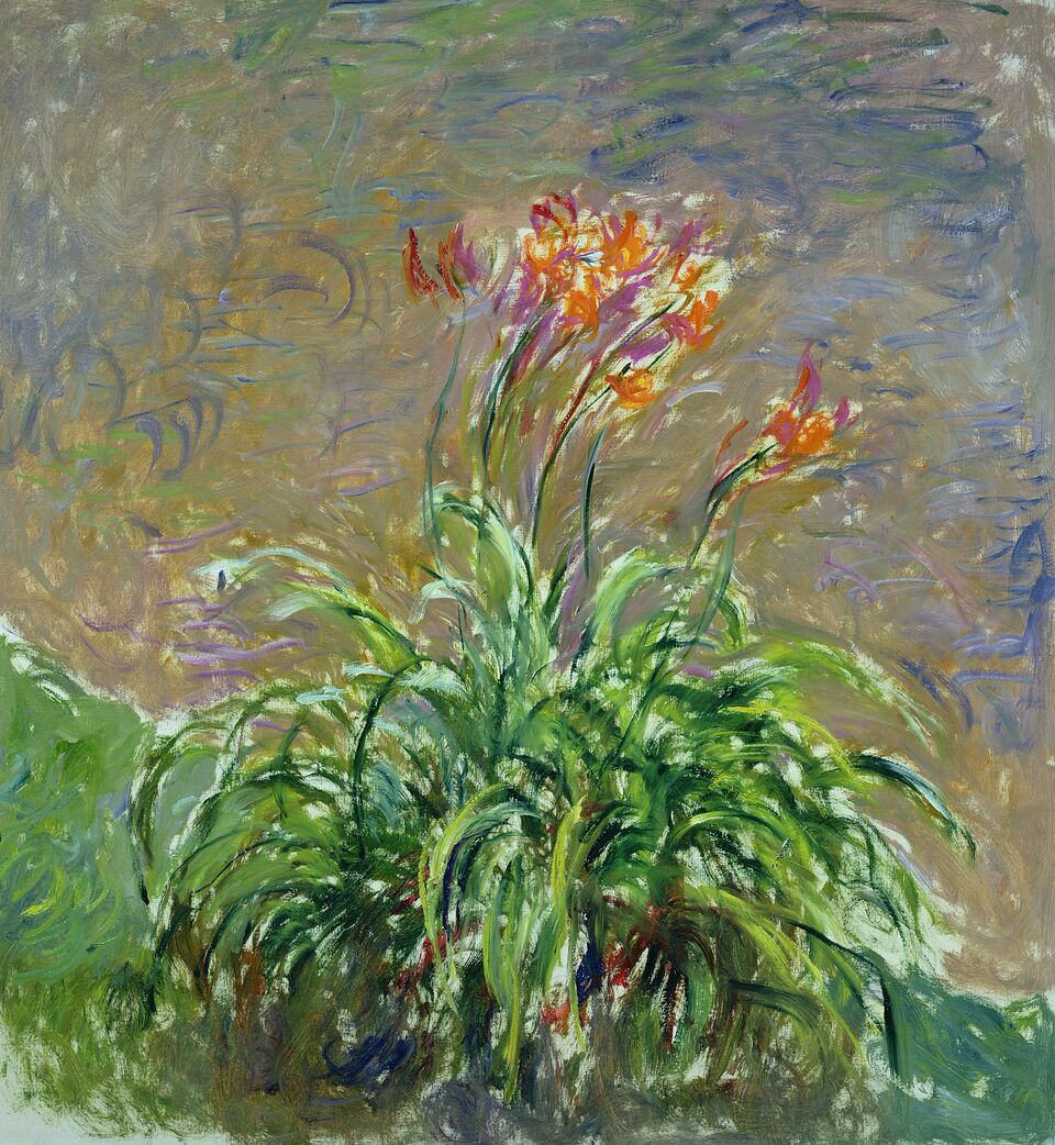 Claude Monet (1840-1926) Emerocallidi , 1914-1917 Olio su tela, 150x140,5 cm Parigi, Musée Marmottan Monet © Musée Marmottan Monet, paris c Bridgeman- Giraudon / presse
