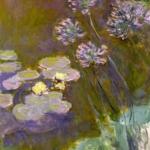 Claude Monet | Claude Monet (1840-1926)   Ninfee e agapanti  , 1914-1917   Olio su tela, 140x120 cm   Parigi, Musée Marmottan Monet   © Musée Marmottan Monet, paris c   Bridgeman-Giraudon / presse