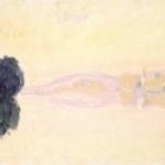 Claude Monet | Claude Monet (1840-1926)   La Senna a Port-Villez. Effetto rosa  , 1894   Olio su tela, oppure 52,5x92,4 cm   Parigi, Musée Marmottan Monet   © Musée Marmottan Monet, paris c Bridgeman-  Giraudon / presse