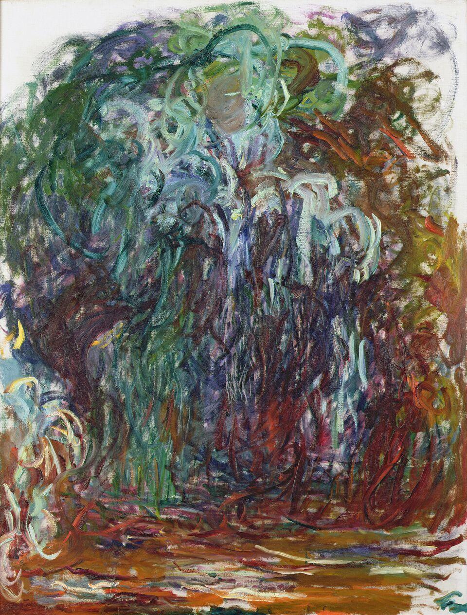 Claude Monet (1840-1926) Salice piangente , 1921-1922 Olio su tela, 116x89 cm Parigi, Musée Marmottan Monet © Musée Marmottan Monet, paris c Bridgeman-Giraudon / presse