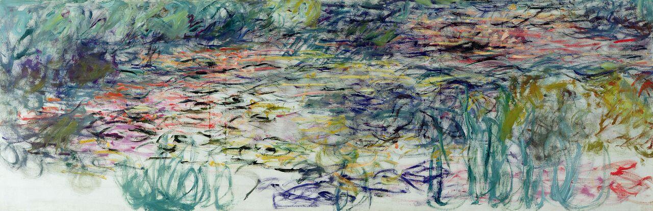 Claude Monet (1840-1926) Ninfee , 1917-1919 Olio su tela, 100x300 cm Parigi, Musée Marmottan Monet © Musée Marmottan Monet, paris c Bridgeman-Giraudon / presse