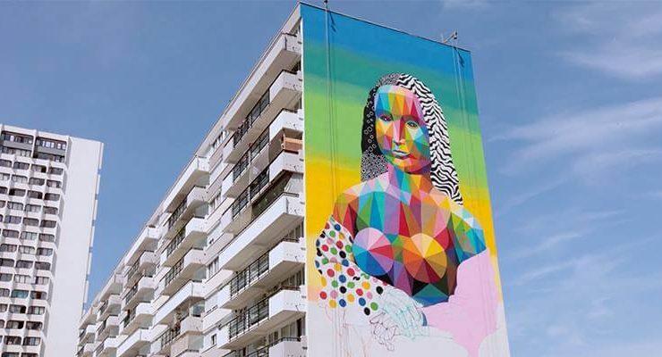 A Parigi una nuova Gioconda raffigurata dall'artista Okuda