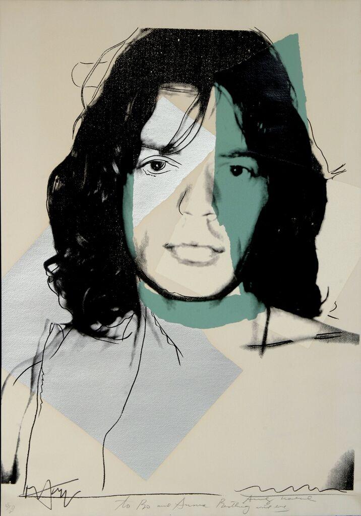 ANDY WARHOL Cow,1971. Serigrafia su carta da parati Ed.100 esemplari ca.,Warhol al Whitney Museum of American Art ,NY1 maggio 1971_preview