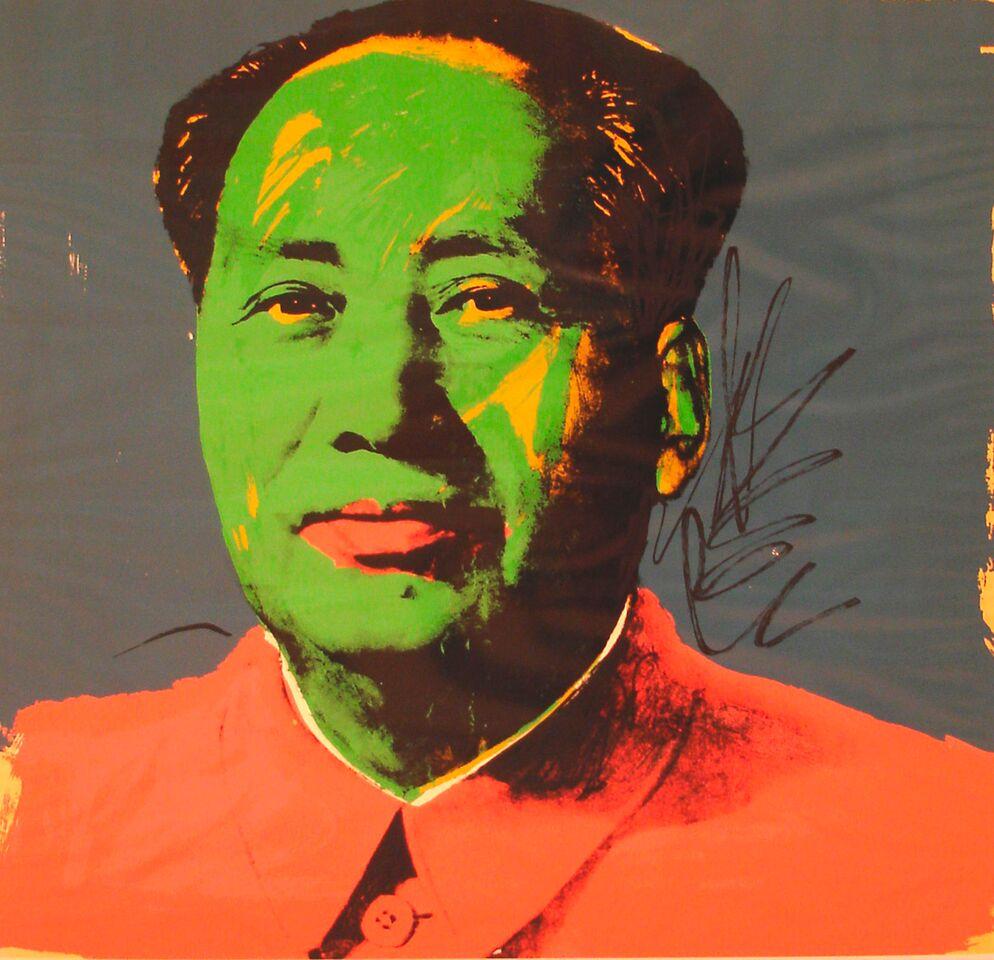 ANDY WARHOL Mao Tse Tung,1972. serigrafia su Beckett High White Paper, Pezzo Unico 91,4x91,4 cm Coll.privata, San Benedetto_preview