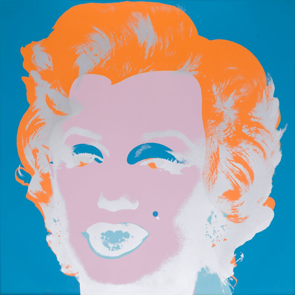 ANDY WARHOL Marilyn, 1967 Serigrafia su carta Pezzo unico, fuori edizione Eredità di Andy Warhol 91,4x91,4 cm Collezione Rosini Gutman_preview