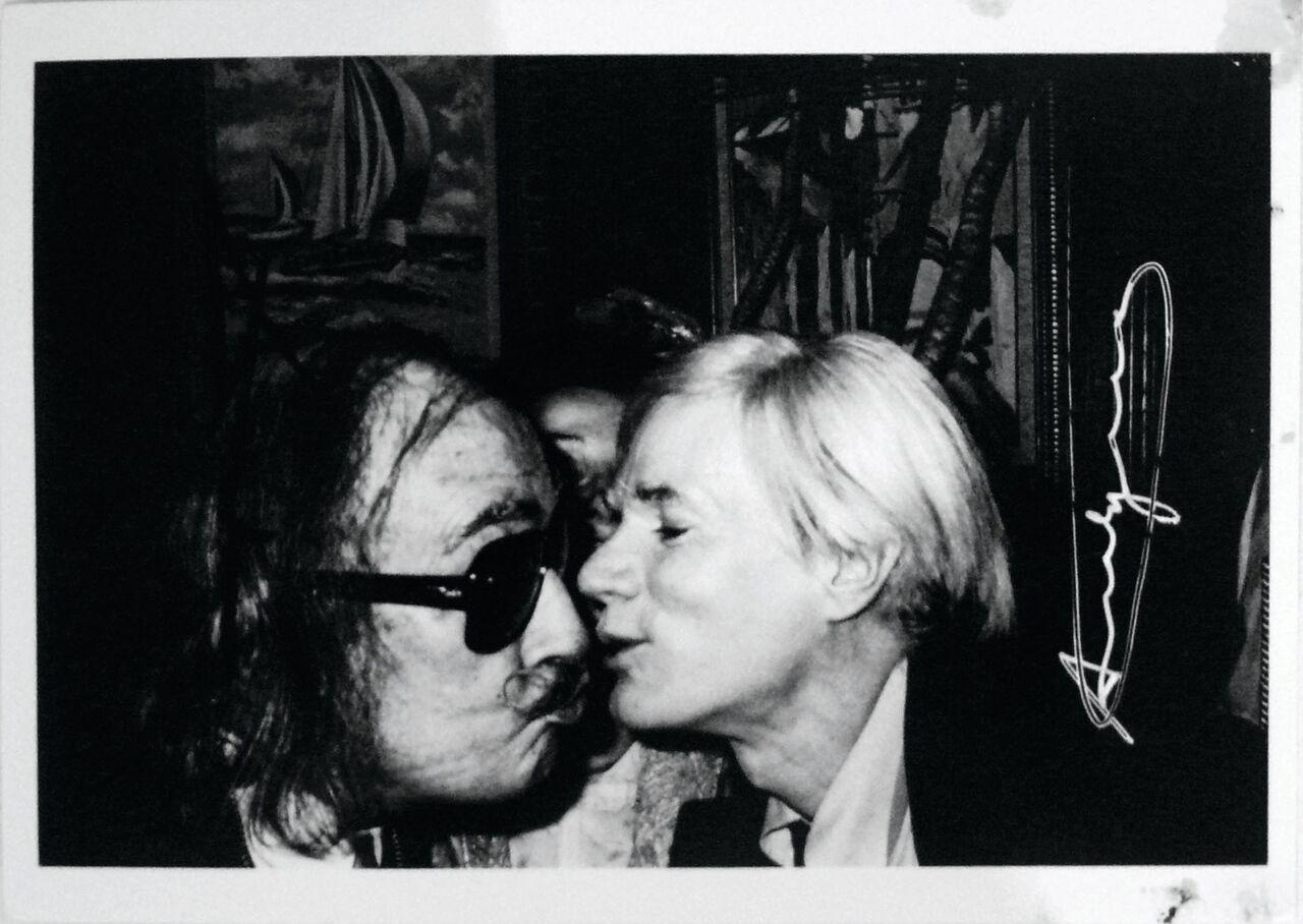 ANDY WARHOL e SALVADOR DALI', foto di Christofer Makos (New Yorl, 1964).jpg_preview