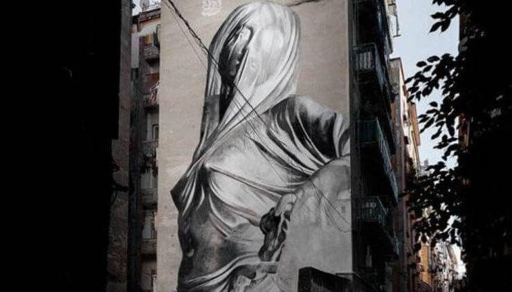 """""""Iside"""", il nuovo murales di Bosoletti tra le vie di Napoli"""