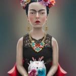 Illustrazioni dedicate a Frida Kahlo    © Felipe Bedoya