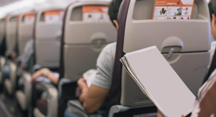 5 libri da leggere durante un viaggio in aereo