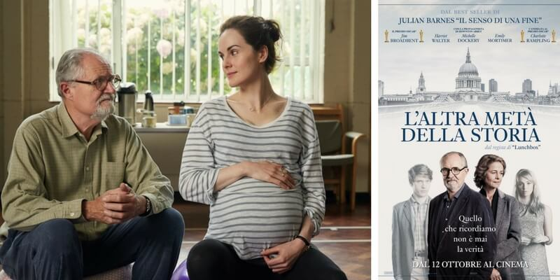 """Arriva nelle sale cinematografiche """"L'altra metà della storia"""", film tratto dal bestseller di Julian Barnes"""