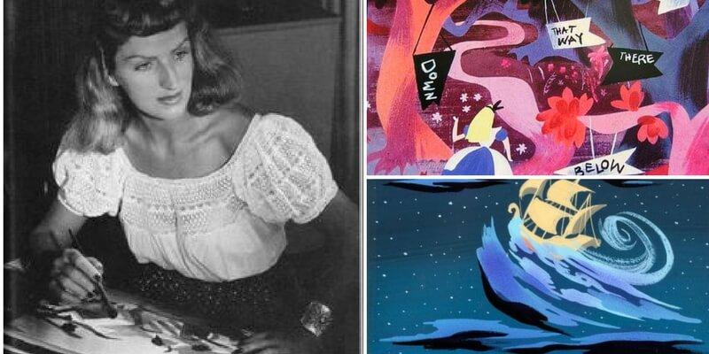 Mary Blaire, l' illustratrice dei film d'animazione Walt Disney