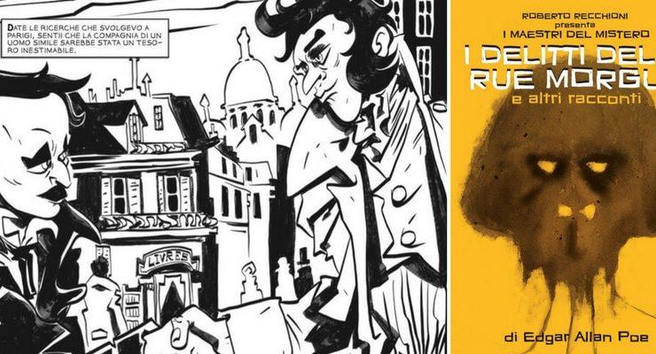 I maestri del mistero, arriva la collana a fumetti ispirata ai classici della letteratura